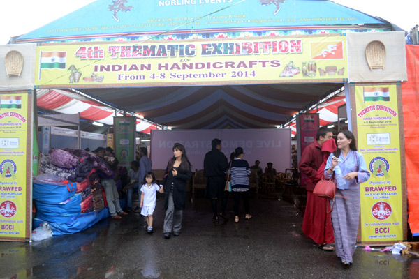 Bhutan International Trade Fair 2014 - BRAWFED